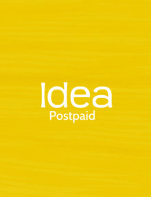 idea postpaid fancy number